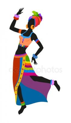 African dancing painting 55 new ideas African Princess, African Girl, African American Art, African Women, African Dance, Dancer Silhouette, African Quilts, Afrique Art, Fabric Paint Designs