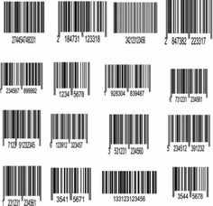 bar code label 01 vector