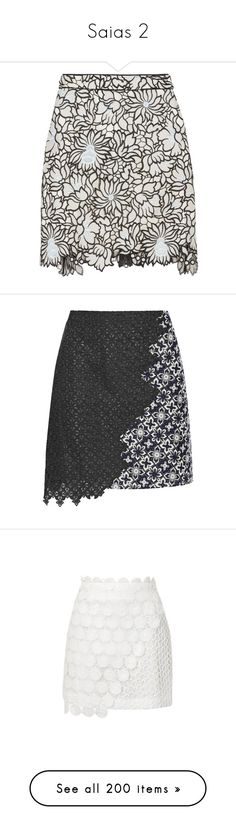 """Saias 2"" by marymariamary ❤ liked on Polyvore featuring skirts, mini skirts, sky blue, zipper mini skirt, sky blue skirt, lace skirts, zip skirt, lace mini skirt, charcoal and asymmetrical mini skirt"