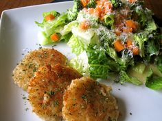 Mrs. Schwartz's Kitchen: Herb Risotto Cakes