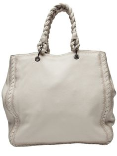 Bottega Veneta braided handle tote