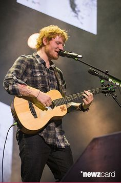 Singer-songwriter Ed Sheeran performed in concert during the opening night of the North American leg of his 'Multiply World Tour' at The Frank Erwin Center on May 6, 2015 in Austin, Texas.