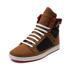 Mens Praxis Paradiso Skate Shoe in Black Brown at Journeys Shoes. Available for shipment in June; pre-order yours today!