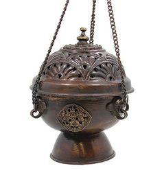 Tibetan Hanging Incense Burner Hinky Imports http://www.amazon.com/dp/B000ZED3J6/ref=cm_sw_r_pi_dp_xNKkxb0H0HKFK