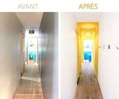 - coach deco Lille Un couloir transformé.Un couloir transformé.