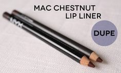 Dupe for MAC Chestnut Lip Pencil