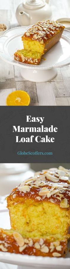 Wondering what to do with that jar of marmalade? This orange and almond cake recipe is so easy and delicious, you'll love it!