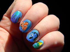 Toxic Vanity: Uñas decoradas Disney Classics : #40 Finding Nemo