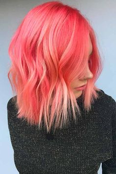 Peach hair is having a great moment during this summer. Do not miss your chance to see the best of our peach-toned ideas and then try them!