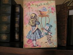 Whimsical Alice in Wonderland canvas/print picture artwork