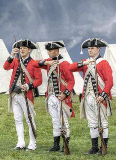 Revolutionary War Soldiers | Soldiers Revolutionary War Digital Art - Three British Soldiers ...