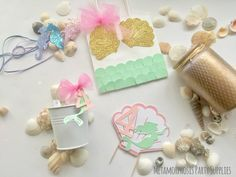 Image of Mermaids - personalised 3D banners, bags, cake topper