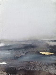 Abstract Watercolor on Cotton Paper - by Sabrina Garrasi