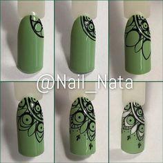 french nails for wedding Polish Nail Art Hacks, Nail Art Diy, Diy Nails, Cute Nails, Diy Art, French Nails, Nail Art Dentelle, Nail Art Modele, Henna Nails
