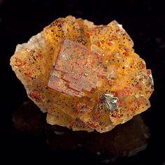 Fluorite | #Geology #GeologyPage #Mineral Locality: Bergmännisch Glück Mine Frohnau Erzgebirge Saxony Germany Size: 3.4 4.2 1.8 cm Photo Copyright Wittig Minerals Geology Page www.geologypage.com