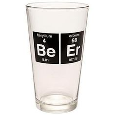 #chemistry #elements #beer #glass #pint