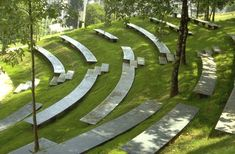 When there will be guests and performances, an integrated terrace can welcome them. conceptLANDSCAPE design.