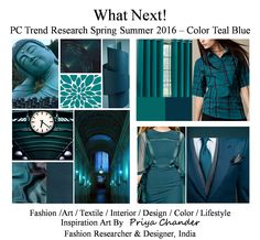 #fashion #art #design #teal #tealcolor #knitwear #homefurnishing #decor #interiordesign #interiors #lifestyle #SS16 #textile #print #pattern #creative #craft #blue #innovation #inspiration #trendalert #fashiontrends