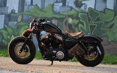 Harley Davidson News – Harley Davidson Bike Pics Harley Davidson Sportster, Sportster 48, Motos Harley Davidson, Victory Motorcycles, Cool Motorcycles, Custom Harleys, Custom Bikes, Harley Bikes, Moto Harley