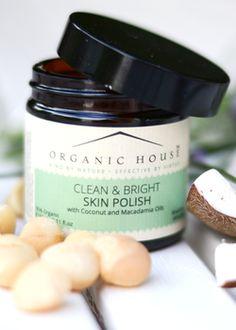 Clean & bright skin scrub. Photograph by Helen Rayner