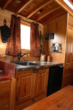 Love the rich interior! andrews-gypsy-wagon-4