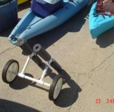 Create your own Kayak Carrier on Wheels! great site!