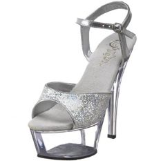 $50.95 silver glitter - Pleasers, Amazon.com