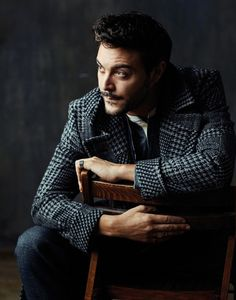 Jack Huston by Neil Gavin, 2015.