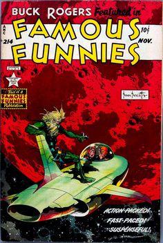 Frank Frazetta | Famous Funnies #214 | Eastern Color | 1954