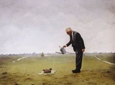 Interdisciplinary artist and photographer Teun Hocks combines his varied passions for art in his multilayered creations that lie somewhere between photographs and paintings. Taking Pictures, Cool Pictures, Cool Photos, Interesting Photos, Funny Pictures, Magritte, Conceptual Photography, Art Photography, Famous Photography