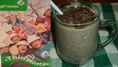 Skinny Thin Mint Shake (95 calories)