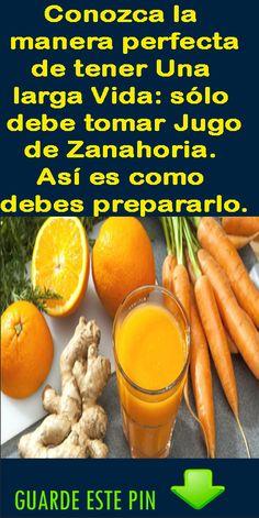 The perfect way to have a long life, just d / Anti Inflammatory Drink, I Am Beautiful, Sweet Potato, Healthy Life, Diabetes, Carrots, Buffet, Margarita, Juice