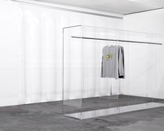 Swedish fashion brand Axel Arigato opened their first gallery store in the heart of Stockholm, with a minimalist retail space by Christian Halleröd. Retail Interior, Bar Interior, Interior Design, Retail Store Design, Retail Shop, Window Display Retail, Retail Displays, Shop Displays, Window Displays