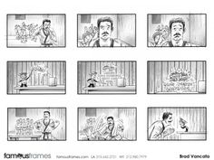 FamousFrames Storyboards, Animatic Artists, Storyboard Artists, Brad Vancata