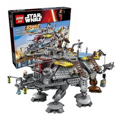 LEPIN 05032 Star Wars Rex's AT-TE Model building kits compatible with lego city 3D blocks Educational toys hobbies for children #>=#>=#>=#>=#> Click on the pin to check out discount price, color, size, shipping, etc. Save and like it!