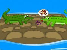The crocodile's greedy wife wants the monkey's heart - the story of the monkey and the crocodile monkey heart, crocodil greedi