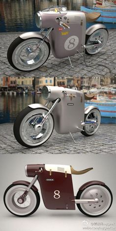 Don't know if it is a bicycle or a motorbike... most random thing I have seen.