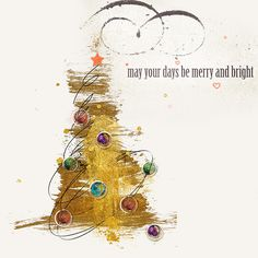 I LOVE THIS!  Fancy Art Christmas Goldrush by Veer via Gallery Standouts. Digital scrap supplies by Jopke at Oscraps.