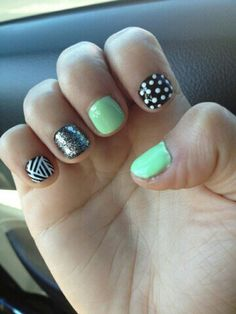 Personally, I Love Short And Cute Nails Like These!