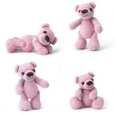 Gorgeous free DIY crochet bear tutorial. Tutorial in latest issue of Sweet Living, page 51. Thanks so for freebie PDF, love it: http://www.sweetlivingmagazine.co.nz/wp-content/uploads/Little-Teddy.pdf