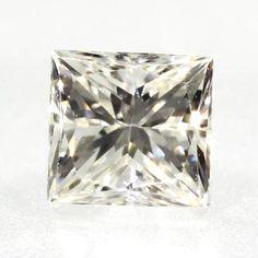 0.31 ct J Color VVS1 Clarity 3.62x3.43x2.86mm Princess Cut Natural Loose Diamond