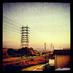 #electronicwire #電線 #電柱 Transmission Line