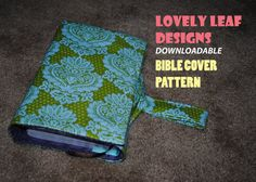 DIY Bible or Journal Cover Pattern (PDF Pattern)