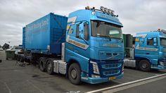 Volvo FH Smit Transport truck race team Holland - Silverstone 2016