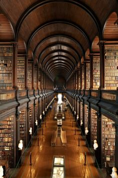 Trinity College Library - Dublin, Ireland