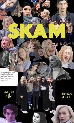 SKAM - Wallpaper  Tusen Takk #skam #skamwallpaper #noorhelm #chrisandeva #sanaandyousef #SKAM