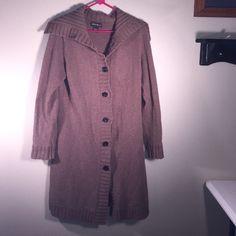 Eddie Bauer Long Sweater Eddie Bauer Long Sweater. Brown . Size Medium. Eddie Bauer Sweaters Cardigans