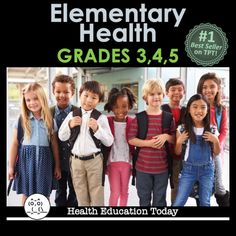 Need Elementary Health Lessons? If you teach or Grade Health, check out these Best-Selling Health lessons. They can be taught in class or be completely sent home as homework! Elementary Science Classroom, Primary Science, Teaching Science, Life Science, Classroom Resources, Elementary Education, Teaching Resources, Education Today, Health Education