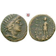Römische Provinzialprägungen, Seleukis und Pieria, Laodikeia ad mare, Autonome Prägungen, Bronze 1. Hälfte 1. Jh. v.Chr., ss:… #coins