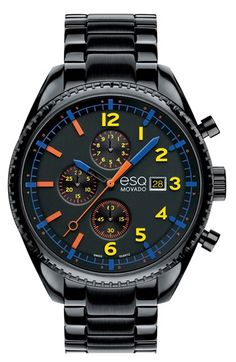 ESQ Movado 'Catalyst' Chronograph Bracelet Watch available at #Nordstrom